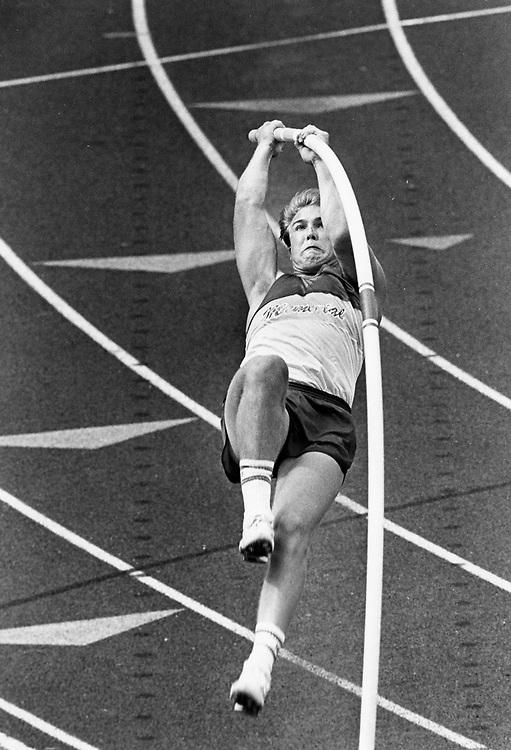 ©1989 High school pole vaulter in Austin, Texas