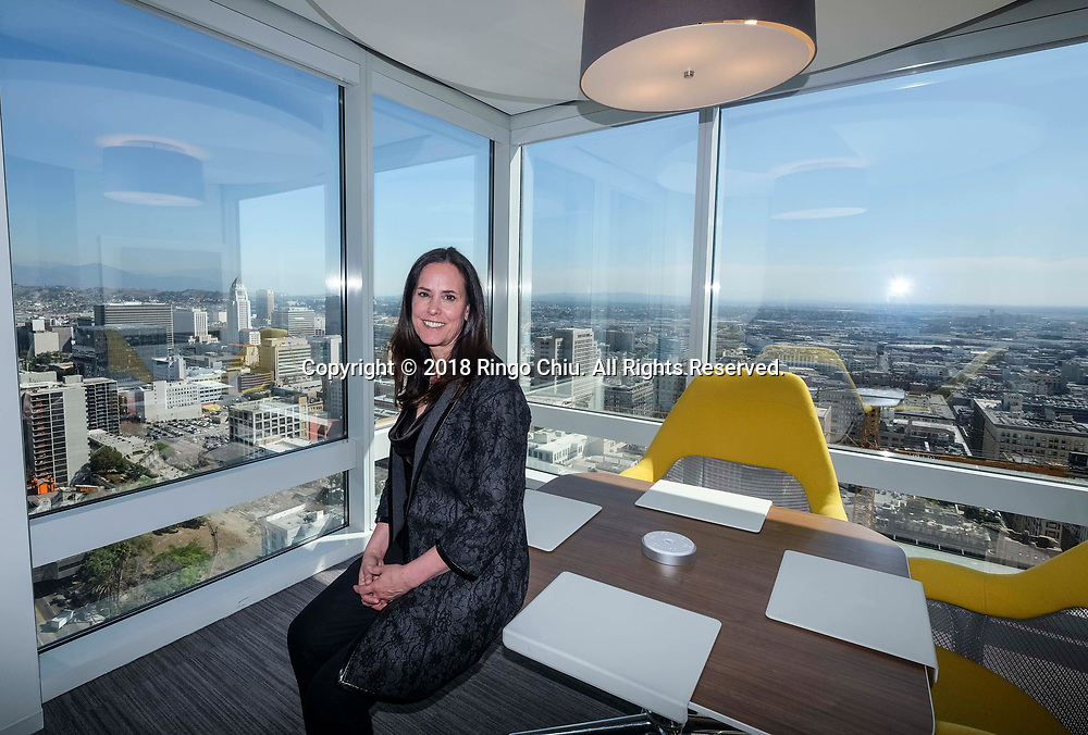 Michelle Kerrick, 2018 Board Chair of the Los Angeles Area Chamber of Commerce (and Managing Partner, Los Angeles office for Deloitte). (Photo by Ringo Chiu)<br /> <br /> Usage Notes: This content is intended for editorial use only. For other uses, additional clearances may be required.