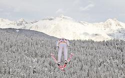 19.12.2011, Casino Arena, Seefeld, AUT, FIS Nordische Kombination, DKB FIS Weltcup Skispringen TEAM HS 109 Ski Sprung, im Bild Gudmund Storlien (NOR) // Gudmund Storlien of Norway during Ski jumping at FIS Nordic Combined World Cup in Seefeld, Austria on 20111211. EXPA Pictures © 2011, PhotoCredit: EXPA/ P.Rinderer