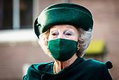 Prinses Beatrix bezoekt het Dordrechts Museum