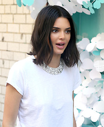 Kendall Jenner at a photo shoot for Tiffany in New York City. 03 May 2018 Pictured: Kendall Jenner. Photo credit: MEGA TheMegaAgency.com +1 888 505 6342