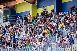 Spectators during football match between NK Radomlje and NK Olimpija in 2nd Round of Prva Liga Telemach 2021/22, on July 25, 2021 in Domzale Stadium, Ljubljana, Slovenia. Photo by Nik Moder / Sportida