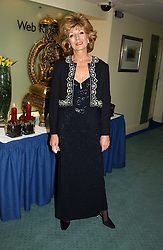 Actress RULA LENSKA  at the charity Vanishing Herd Foundation - Conservation Ball held at the Radison Hotel, Portman Square, London on 13th November 2004.<br /><br />NON EXCLUSIVE - WORLD RIGHTS