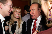 Aurelia Bonito and Andrew Neil. andrew Roberts and Leonie Frieda celebrate the publication of Andrew's 'Waterloo: Napoleon's Last Gamble' and the paperback of Leonie's 'Catherine de Medic'i. English-Speaking Union, Dartmouth House. London. 8 February 2005. ONE TIME USE ONLY - DO NOT ARCHIVE  © Copyright Photograph by Dafydd Jones 66 Stockwell Park Rd. London SW9 0DA Tel 020 7733 0108 www.dafjones.com