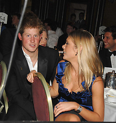 HRH PRINCE HARRY and CHELSY DAVY at the 2008 Boodles Boxing Ball in aid of the charity Starlight held at the Royal Lancaster Hotel, London on 7th June 2008.<br /> <br /> NON EXCLUSIVE - WORLD RIGHTS