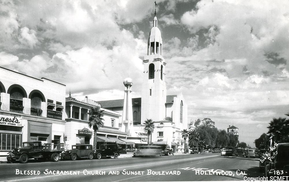 1937 Sunset Blvd. at Las Palmas Ave.