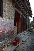 The ancient village of Yangmei is approximately 30 kilometres from the provincial capital of Nanning.   Ming dynasty house in Yangmei.