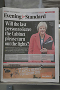 Will the last person to leave the cabinet please turn out the lights . Evening Standard. Canary Wharf. London was the only region in England that voted to remain in the EU referendum, but the British public as a whole voted to leave. Banking is just the tip of the iceberg with many other industries also making irrevocable decisions. The damage to the economy from Brexit is already afoot — so much so that the act of leaving the EU itself is, at this point, increasingly irrelevant. Businesses are closing, uncertainty reigns. Brexit is increasingly fraught with uncertainty after the UK's parliament rejected Prime Minister Theresa May's Brexit deal many times.