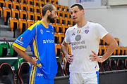 Planinic Darko - Delas Mario<br /> Dinamo Banco di Sardegna Sassari - Betaland Capo d'Orlando<br /> LegaBasket Serie A LBA Poste Mobile 2017/2018<br /> Sassari 12/11/2017<br /> Foto Ciamillo-Castoria