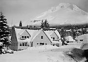 "Ackroyd 01188-4. ""Cascade Ski Club lodge at Government Camp. December 24, 1948"""