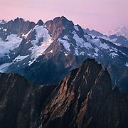Park Creek Ridge high up in the Cascade Range in North Cascades National Park, WA.