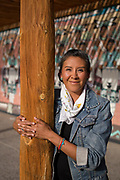 Stephanie K. Oyenque, Cultural Education Specialist at the Indian Pueblo Cultural Center in Albuquerque New Mexico on Aug. 31st, 2018.