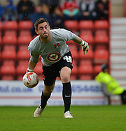 Leyton Orient's goalkeeper Alex Cisak during the Sky Bet League 1 match between Swindon Town and Leyton Orient at the County Ground, Swindon, England on 3 May 2015. Photo by Mark Davies.