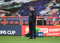 Rugby Union - 2019 / 2020 Heineken Cup - Final - Exeter Chiefs vs Racing 92 - Ashton Gate, Bristol<br /> <br /> Exeter Chiefs' Director of Rugby Rob Baxter during the pre match warm up.<br /> <br /> COLORSPORT/ASHLEY WESTERN