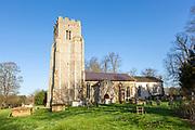 Village parish church Rendlesham, Suffolk, England, UK