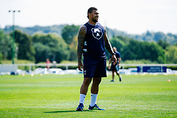Nathan Hughes looks on during week 1 of Bristol Bears pre-season training ahead of the 19/20 Gallagher Premiership season - Rogan/JMP - 03/07/2019 - RUGBY UNION - Clifton Rugby Club - Bristol, England.
