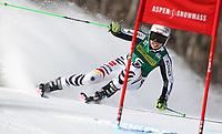ALPINE SKIING - WORLD CUP 2011/2012 - ASPEN (USA) - 26/11/2011 - PHOTO : ALESSANDRO TROVATI<br />  / PENTAPHOTO / DPPI - WOMEN GIANT SLALOM - Viktoria Rebensburg (Ger) / WINNER