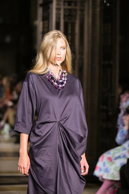 Tahir show during London Fashion Week, Spring/Summer 2013