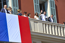 July 18, 2018 - Nice, France - Hugo Lloris (capitaine de l equipe de france de football) et sa femme - Christian Estrosi  (Credit Image: © Panoramic via ZUMA Press)