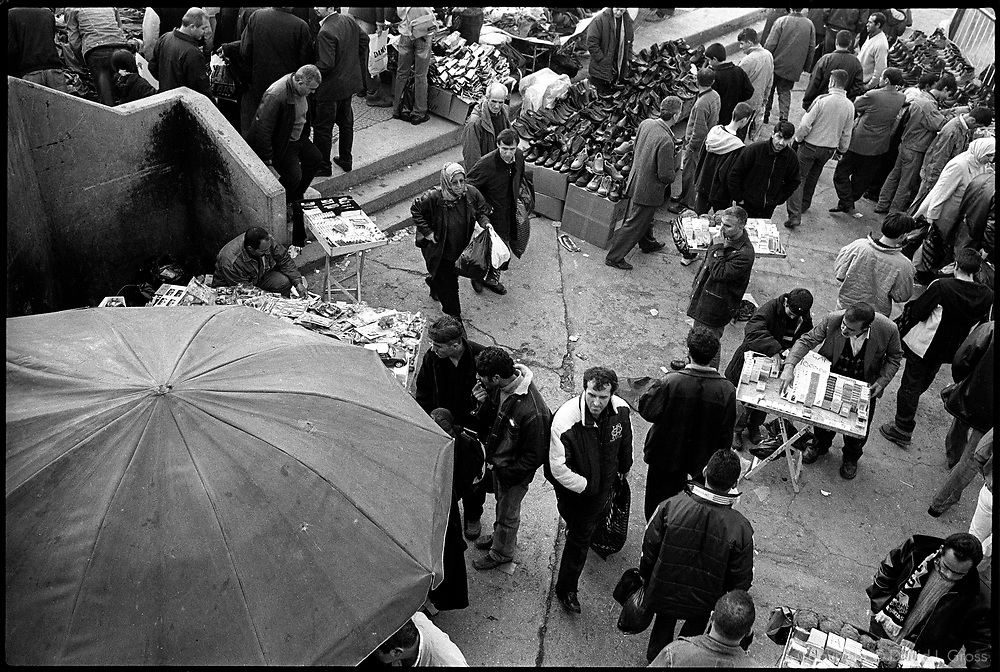 The marketplace in the Eminunu neighborhood of Istanbul, Turkey.