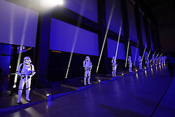 Stormtroopers at the Rogue One: A Star Wars Story Premiere, at the Tate Modern, London. Picture date: Tuesday December 13th, 2016. Photo credit should read: Matt Crossick/ EMPICS Entertainment.