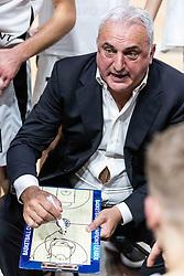 Sasa Doncic, head coach of Ilirija during basketball match between KK Nutrispoint Ilirija and KK Sentjur in Round #3 of Nova KBM League 2021/22, on October 18, 2021 in Hala Tivoli, Ljubljana, Slovenija. Photo by Vid Ponikvar / Sportida