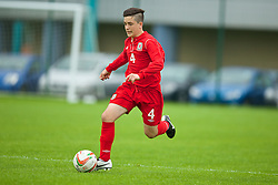 NEWPORT, WALES - Wednesday, May 28, 2014: Regional Boys' Jack Nicholls during the Welsh Football Trust Cymru Cup 2014 at Dragon Park. (Pic by David Rawcliffe/Propaganda)