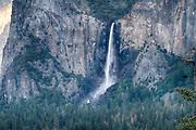 Bridalveil Falls, Yosemite National Park, California