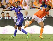 Oct 4, 2013; Houston, TX, USA; during the second half at BBVA Compass Stadium. The Dynamo won 1-0. Mandatory Credit: Thomas Campbell-USA TODAY Sports