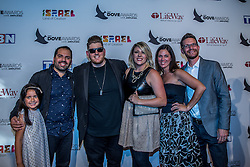 October 11, 2016 - Nashville, Tennessee, USA - Gateway Worship at the 47th Annual GMA Dove Awards  in Nashville, TN at Allen Arena on the campus of Lipscomb University.  The GMA Dove Awards is an awards show produced by the Gospel Music Association. (Credit Image: © Jason Walle via ZUMA Wire)