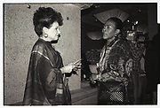 Cindy Adams , Power Lunch in aid of Meals on Wheels, Gotham Bar and Grill, Manhattan. 17 November 1988