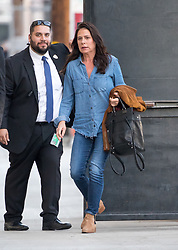Maura Tierney is seen at 'Jimmy Kimmel Live' in Los Angeles, California. NON-EXCLUSIVE January 09, 2019. 09 Jan 2019 Pictured: Maura Tierney. Photo credit: RB/Bauergriffin.com / MEGA TheMegaAgency.com +1 888 505 6342