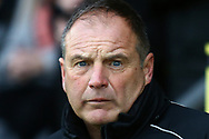 Gillingham FC manager Steve Lovell during the EFL Sky Bet League 1 match between Burton Albion and Gillingham at the Pirelli Stadium, Burton upon Trent, England on 12 January 2019.