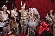 HEN NIGHT, LOST HEARTS , A VALENTINE'S MASQUERADE BALL 2016 at the Coronet Theatre,  Elephant and Castle, London. 12th February 2016
