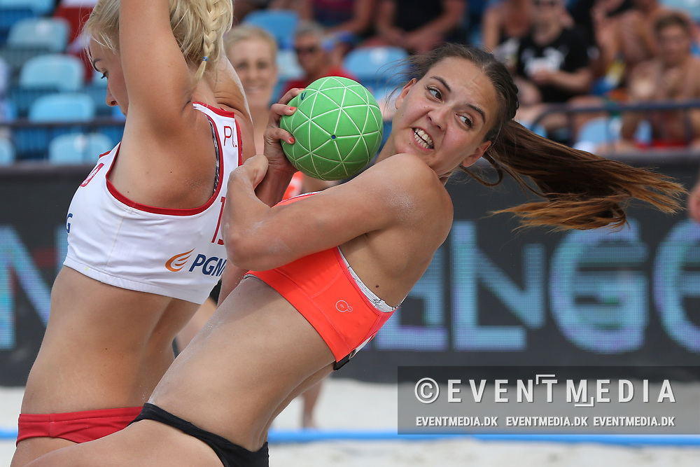 Day 5 at the European Beach Handball Championship 2017 in Jarun Lake, Zagreb, Croatia, 25.06.2017. Photo Credit: Søren T. Larsen/Allan Jensen/EVENTMEDIA.