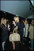 SILVIA CEROLINI; ALLI ZANCHETTA, Frieze party, ACE hotel Shoreditch. London. 18 October 2014