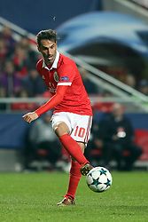 December 5, 2017 - Lisbon, Portugal - Benfica's Brazilian forward Jonas in action during the UEFA Champions League Group A football match between SL Benfica and FC Basel at the Luz stadium in Lisbon, Portugal on December 5, 2017. (Credit Image: © Pedro Fiuza/NurPhoto via ZUMA Press)