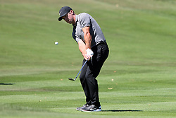 March 23, 2019 - Palm Harbor, FL, U.S. - PALM HARBOR, FL - MARCH 23: Paul Casey chips onto the green during the third round of the Valspar Championship on March 23, 2019, at Westin Innisbrook-Copperhead Course in Palm Harbor, FL. (Photo by Cliff Welch/Icon Sportswire) (Credit Image: © Cliff Welch/Icon SMI via ZUMA Press)