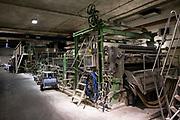 Moderne Papiermaschine: Herstellung von Premiumpapier bei GMUND in Gmund am Tegernsee, Deutschland, 20. Januar 2020