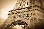 Detail of the Eiffel Tower, Paris, France