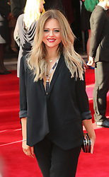 © Licensed to London News Pictures. 18/05/2014, UK. Emily Atack, Arqiva British Academy Television Awards - BAFTA, Theatre Royal Drury Lane, London UK, 18 May 2014. Photo credit : Richard Goldschmidt/Piqtured/LNP