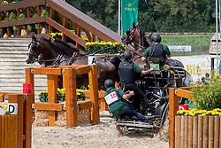 Dobrovitz Jozsef, HUN, Bandidos, Cheerokee, Lator, Waltstar<br /> CHIO Aachen 2019<br /> Weltfest des Pferdesports<br /> © Hippo Foto - Dirk Caremans<br /> Dobrovitz Jozsef, HUN, Bandidos, Cheerokee, Lator, Waltstar