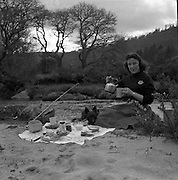 Fishing Picnic, Annamoe, Laragh, Co. Wicklow. 20/05/1957 20th June 1957.