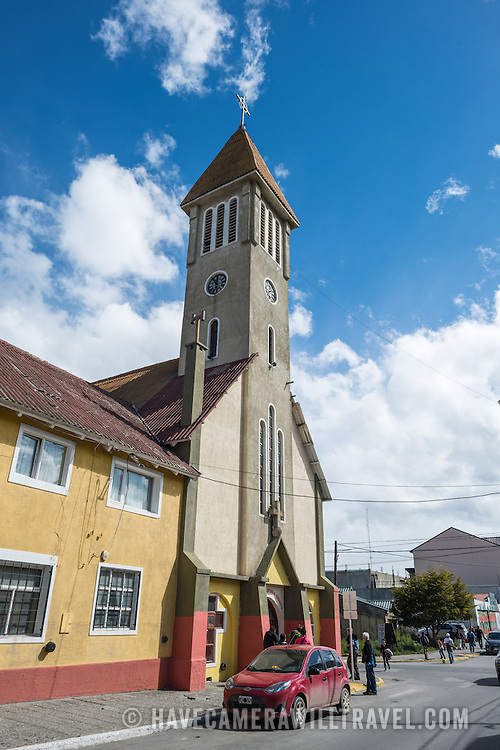 A church in Ushuaia, Argentina.