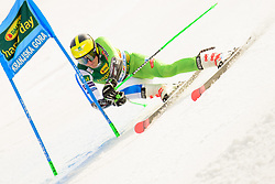 March 9, 2019 - Kranjska Gora, Kranjska Gora, Slovenia - Stefan Hadalin of Slovenia in action during Audi FIS Ski World Cup Vitranc on March 8, 2019 in Kranjska Gora, Slovenia. (Credit Image: © Rok Rakun/Pacific Press via ZUMA Wire)