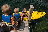 Camp Island Lake Winnipesaukee with the Herrmann family.  ©2015 Karen Bobotas Photographer