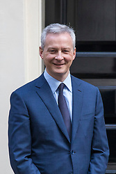 © Licensed to London News Pictures. 06/03/2018. London, UK. French Finance Minister Bruno Le Maire arrives at 11 Downing Street for a meeting. Photo credit: Rob Pinney/LNP