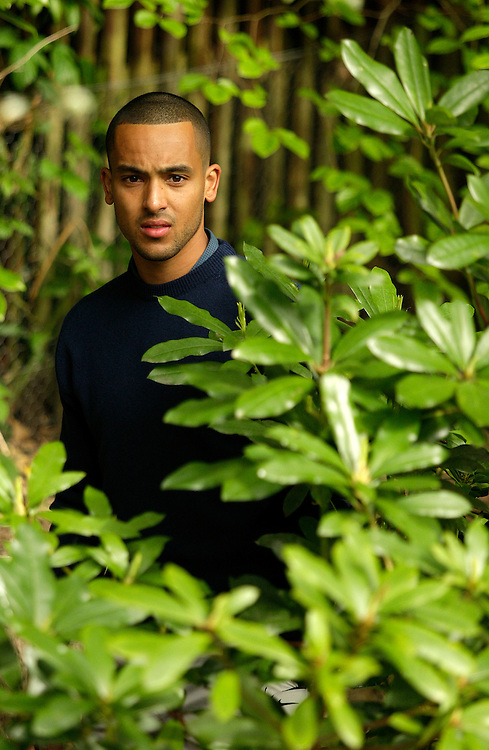Arsenal's Theo Walcott finds his ball in the trees during the Pro Am... (Photo by James Marsh/CameraSport) ..Golf - 2013 BMW PGA Championship - Celebrity Pro-Am Day - Wentworth Club - Wednesday 22nd May 2013 - Virginia Water, Surrey, England..© CameraSport - 43 Linden Ave. Countesthorpe. Leicester. England. LE8 5PG - Tel: +44 (0) 116 277 4147 - admin@camerasport.com - www.camerasport.com