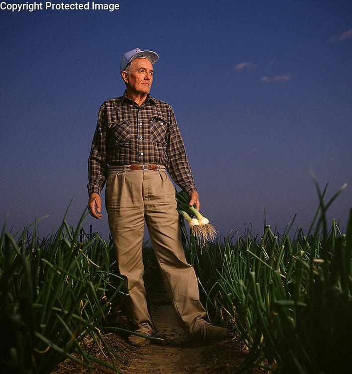 Vidalia Onion Farmer<br /> Photo by Michael A. Schwarz