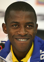 20090623: Johannesburg, SOUTH AFRICA - Brazil National Team Press Conference at Sunny Side Park Hotel, in Johannesburg, during the FIFA Confederations Cup 2009. In picture: Ramires (new SL Benfica player). PHOTO: CITYFILES